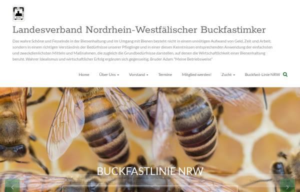 Vorschau von www.buckfastnrw.de, Landesverband der nordrhein-westfälischen Buckfastimker e.V.