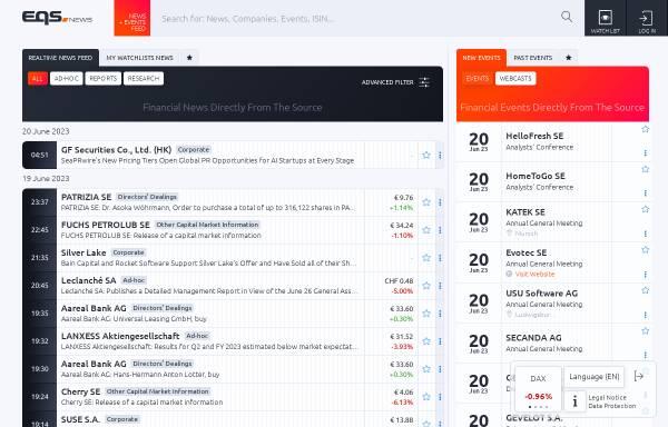 Vorschau von www.dgap-medientreff.de, DGAP-Medientreff