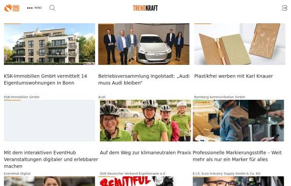 Vorschau von trendkraft.de, TRENDKRAFT