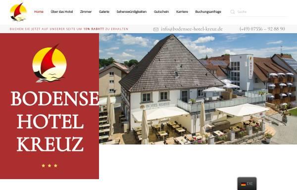 Vorschau von www.bodensee-hotel-kreuz.de, Bodensee-Hotel Kreuz