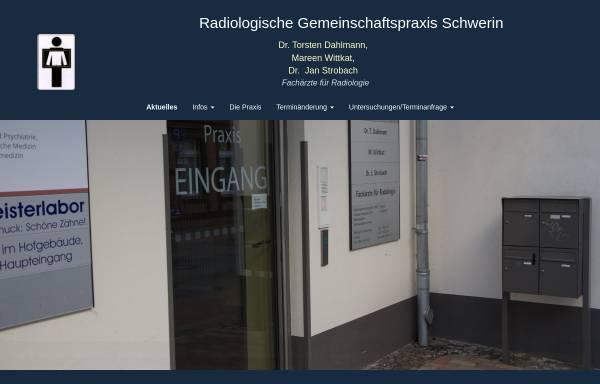 Vorschau von www.roentgenpraxis-schwerin.de, Radiologische Gemeinschaftspraxis Schwerin