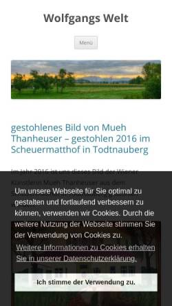 Vorschau der mobilen Webseite www.wolfgang-morgenthaler.de, Morgenthaler, Wolfgang