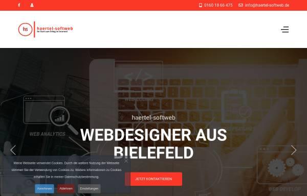 Vorschau von www.haertel-softweb.de, haertel-softweb