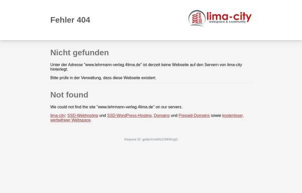 Vorschau von www.lehrmann-verlag.4lima.de, Lehrmann-Verlag