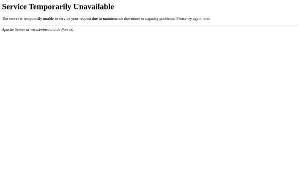 Vorschau von www.twinsound.de, Twinsound Amplifiers for HiFi and Guitar