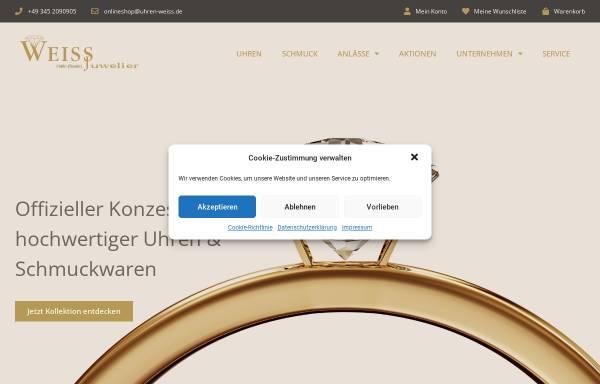 Vorschau von www.uhren-weiss.de, Weiss - Juwelier Uhren Schmuck GmbH