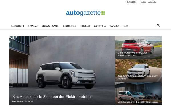 Vorschau von www.autogazette.de, Autogazette