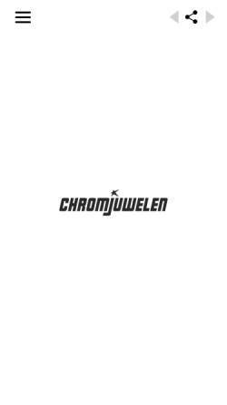 Vorschau der mobilen Webseite www.chromjuwelen.com, Chromjuwelen