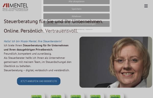 Vorschau von www.steuerimgriff.de, MENTEL Steuer- und Wirtschaftsberatung - Nicole Mentel