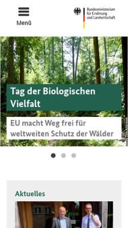 Vorschau der mobilen Webseite www.waldkulturerbe.de, Waldkulturerbe.de