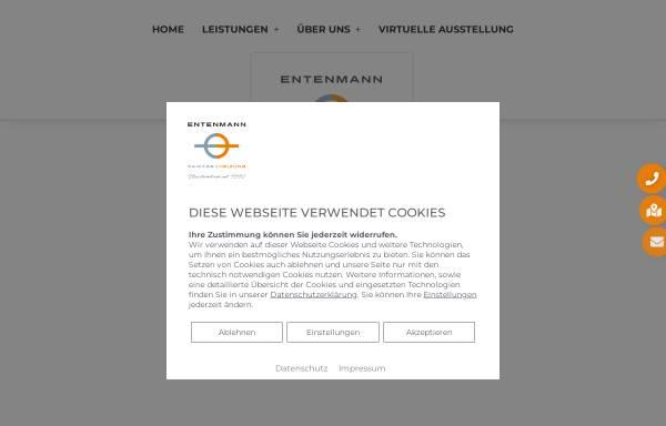 Vorschau von www.sanitaer-entenmann.de, Sanitärbetrieb Michael Entenmann