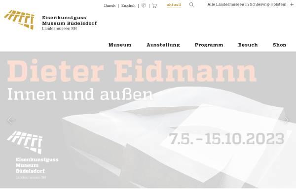Vorschau von www.schloss-gottorf.de, Eisenkunstguss-Museum