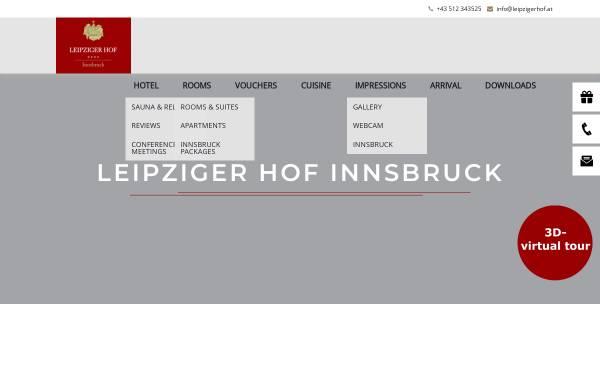 Vorschau von www.leipzigerhof.at, Hotel Leipziger Hof