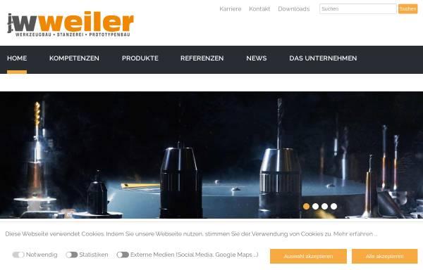Vorschau von www.jjweiler.de, J.J. Weiler - Werkzeug- & Vorrichtungsbau und Stanzerei