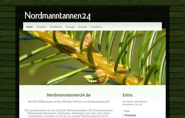 Vorschau von www.nordmanntannen24.de, Nordmanntannen24, Tiffany Trees