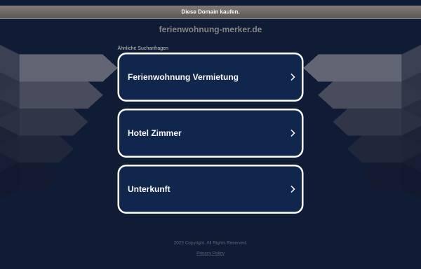 Vorschau von www.ferienwohnung-merker.de, Ferienwohnung Merker