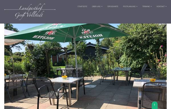 Vorschau von www.landgasthof-gross-vollstedt.de, Landgasthof Groß Vollstedt