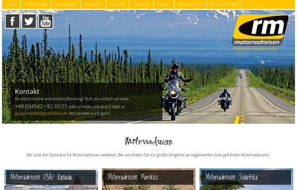 Vorschau von www.rm-motorradreisen.de, Rm-reiseteam GmbH