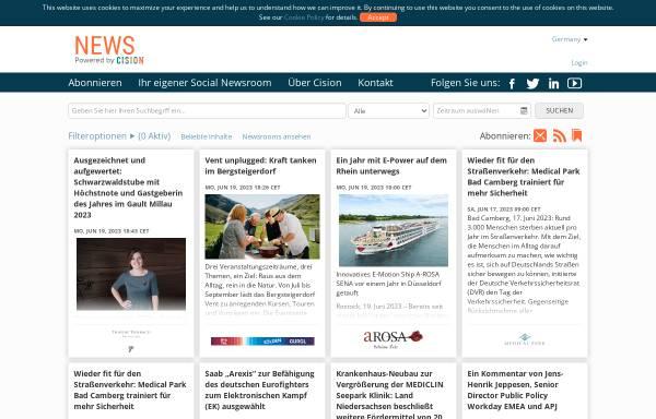 Vorschau von www.cisionwire.de, Cision Wire