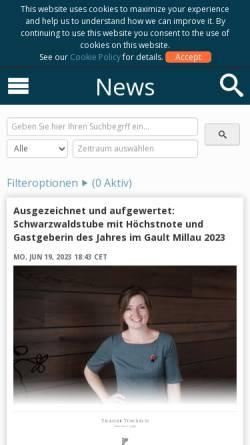 Vorschau der mobilen Webseite www.cisionwire.de, Cision Wire