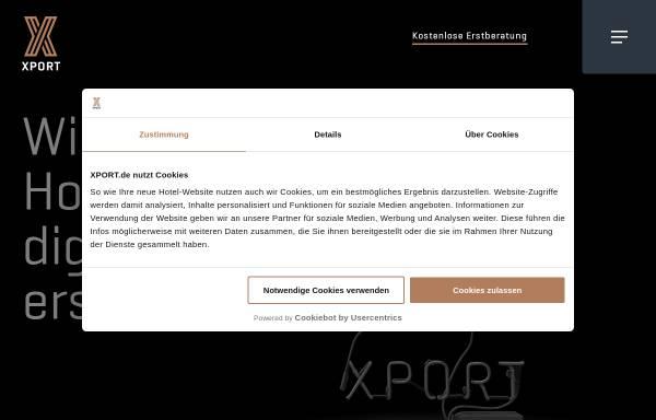 Vorschau von www.xport.de, Xport Communication GmbH