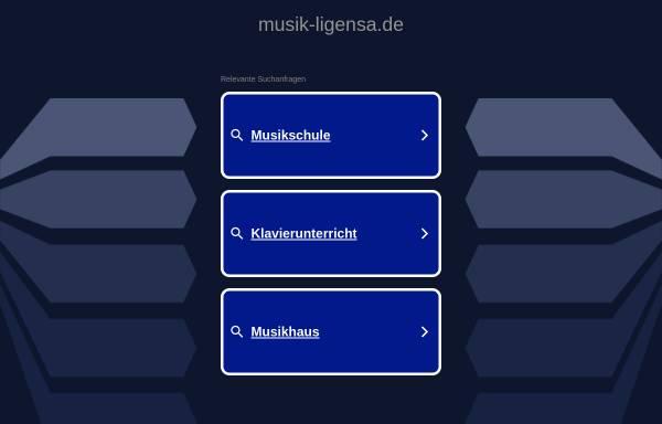 Vorschau von www.musik-ligensa.de, Musik- und Kunstschule Manfred Ligensa