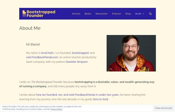 Vorschau von www.arvidkahl.de, Arvid Kahl - Webdesign und Softwareentwicklung