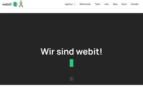 Vorschau von www.webit.de, Webit! Gesellschaft für neue Medien mbH