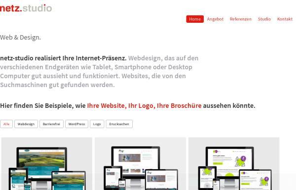 Vorschau von www.netz-studio.de, Netz-Studio