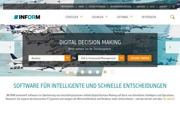 Vorschau von www.inform-software.de, Inform GmbH