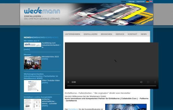 Vorschau von www.wiedemann-gmbh.de, Wiedemann GmbH