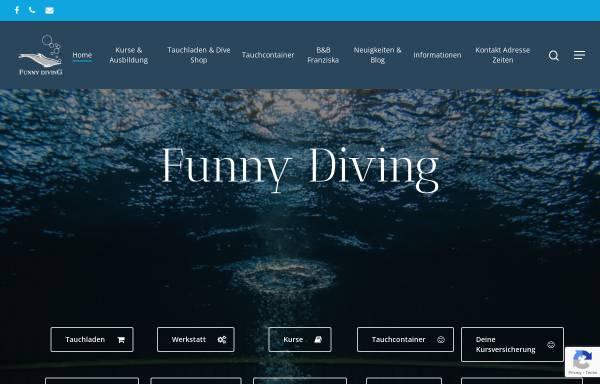 Vorschau von www.funnydiving.ch, Funny Diving GmbH