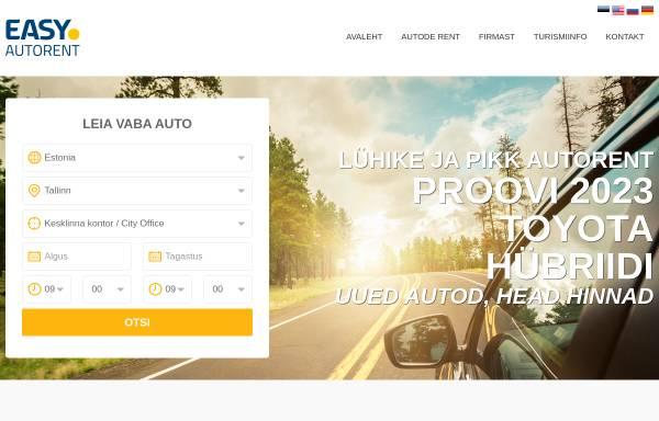 Vorschau von www.easycarrent.ee, Easy Car Rent
