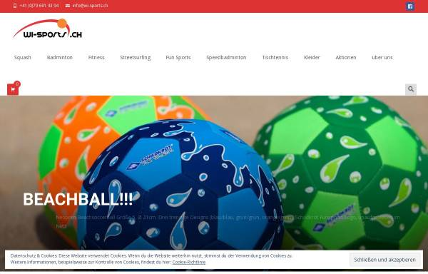 Vorschau von www.wi-sports.ch, International Sports Trading GmbH