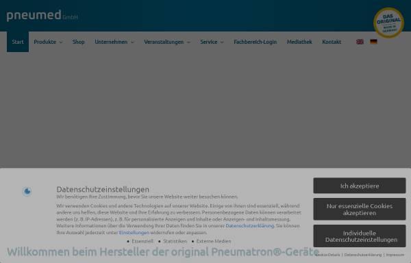 Vorschau von www.pneumed.de, Pneumed GmbH