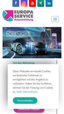 Europa Service: Autovermietung, Verkehr europa-service.de