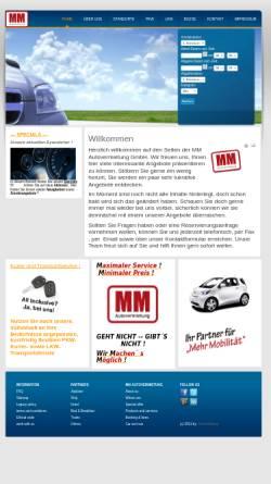 Vorschau der mobilen Webseite www.mm-autovermietung.de, MM Autovermietung GmbH