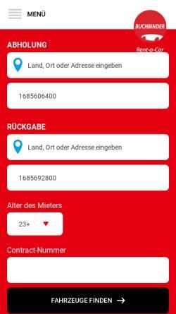Vorschau der mobilen Webseite www.terstappen.de, Terstappen KG