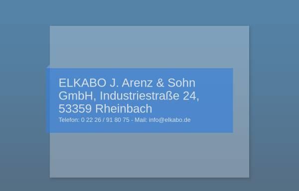 Vorschau von www.elkabo.de, Elkabo GmbH