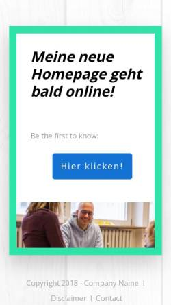 Vorschau der mobilen Webseite www.koljafark.de, WCTAG - Kolja Fark
