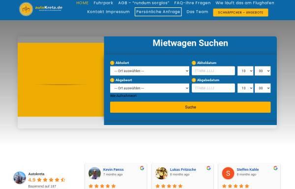 Vorschau von www.autokreta.de, Auto Kreta