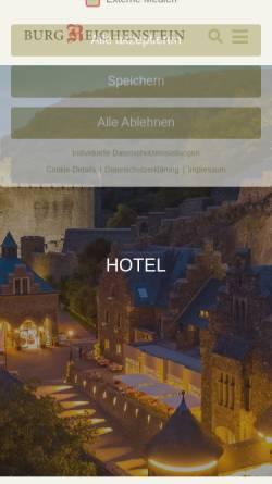 Vorschau der mobilen Webseite de.wikipedia.org, Burg Reichenstein (Mittelrhein) - Wikipedia