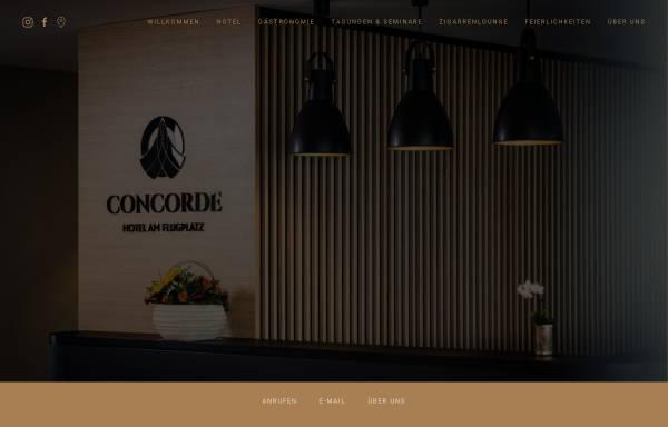 Vorschau von www.concorde-donau.de, Hotel Concorde GmbH & Co.KG