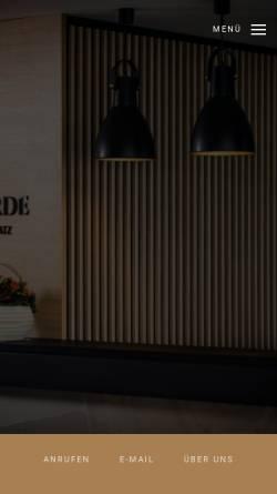 Vorschau der mobilen Webseite www.concorde-donau.de, Hotel Concorde GmbH & Co.KG