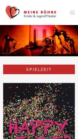 Vorschau der mobilen Webseite www.spiel-doch-selber.de, Kinder & Jugend Theater Murkelbühne