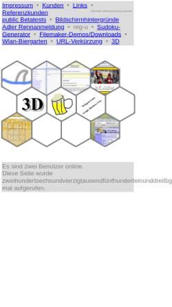 Vorschau der mobilen Webseite www.haifischbar.com, Haifischbar Softwareentwicklung Christian Stüben