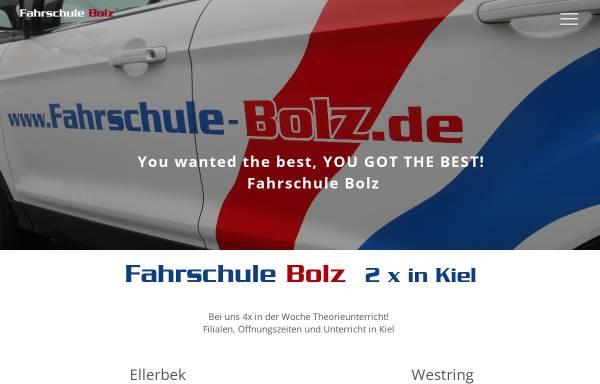 Vorschau von www.fahrschule-bolz.de, Fahrschule Bolz GbR