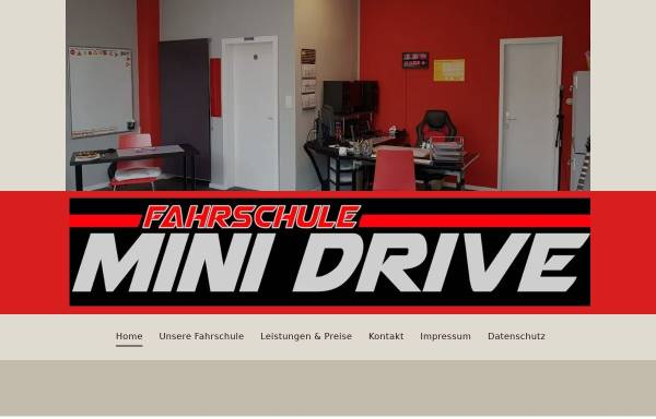 Vorschau von www.fahrschule-mini-drive.de, Fahrschule Mini-Drive