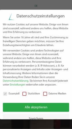 Vorschau der mobilen Webseite www.dicits.com, Delta International CITS GmbH