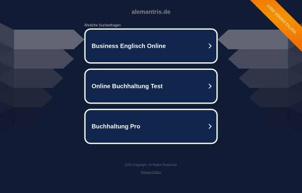 Vorschau von www.alemantris.de, alemantris.de